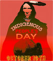 Indigenous People's Day October 10,2016