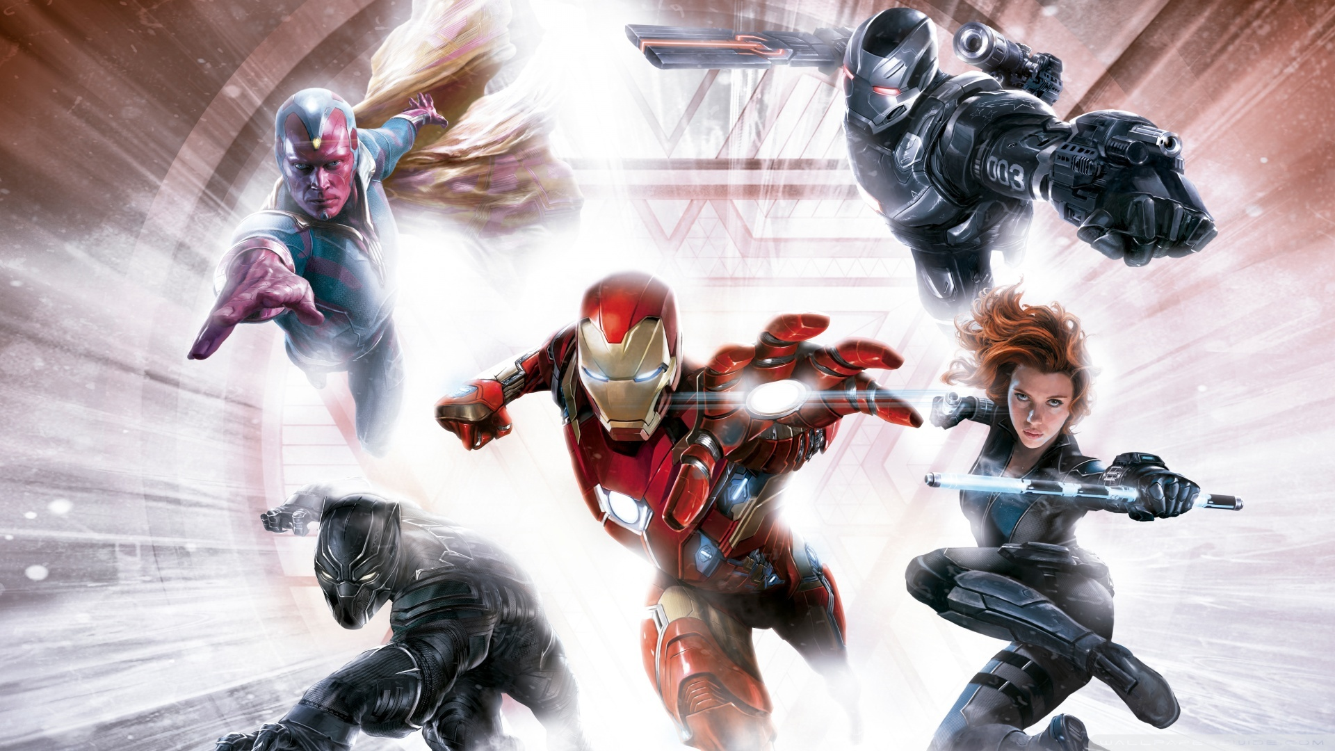 Captain America Civil War Images Iron Man Team Hd Wallpaper And