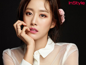 JEON HYE BIN FOR LANCÔME IN OCTOBER INSTYLE