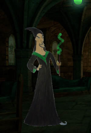 Jafar in Slytherin