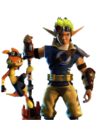 Jak   Daxter The Lost Frontier Renders - jak-and-daxter fan art