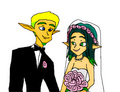 Jak and Keira Hagai Wedding edited - jak-and-daxter fan art