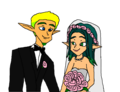 Jak and Keira Hagai Wedding - jak-and-daxter fan art
