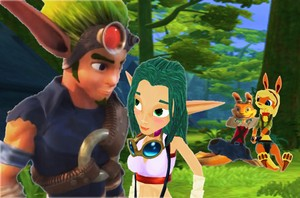 Jak x Keira Hagai and Daxter x Tess Haven Date.