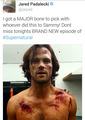 Jared's Tweet - supernatural photo