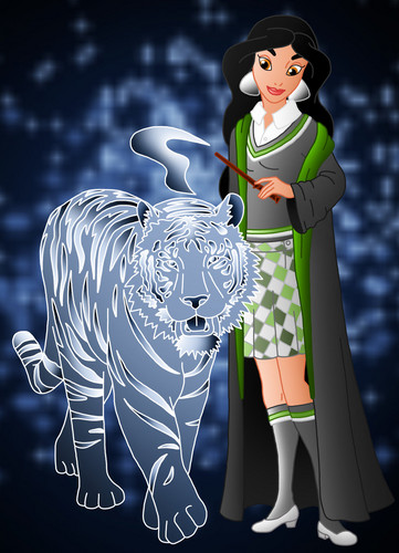Childhood Animated Movie Characters wallpaper titled melati in Hogwarts