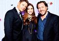 Jensen and Danneel - jensen-ackles photo