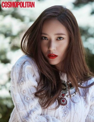 Jessica and Krystal for 'Cosmopolitan'