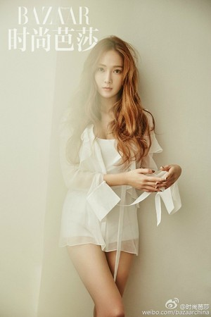 Jessica is a pure goddess in Harper's Bazaar