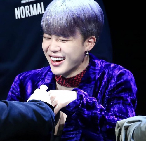 Jimin (BTS) वॉलपेपर titled Jimin with his smile😍❤️