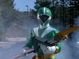 Joel Morphed As The Green Lightspeed Ranger