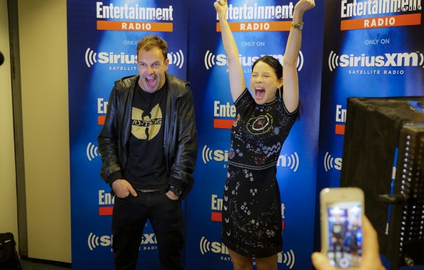 Jonny and Lucy at NYCC (October,2016)