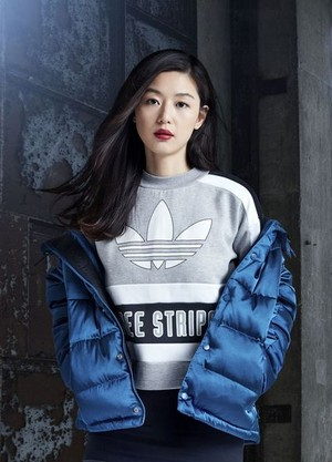 Jun Ji Hyun for Adidas