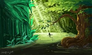 Jungle Mermaid
