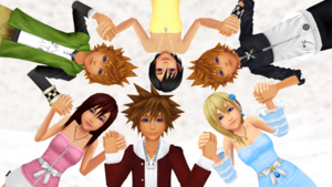 KH Friends are their Power and Romances Forever.