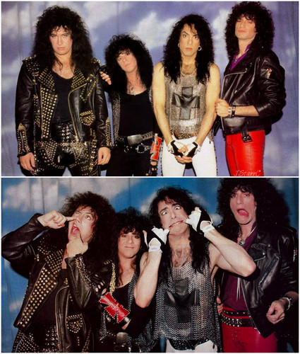 Paul stanley images kiss smashes thrashes and hits 1988 for 1988 club music