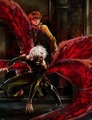Kaneki Protecting Hide - ken-kaneki fan art