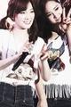 Kim Taeyeon and Yuri - taeyeon-snsd fan art