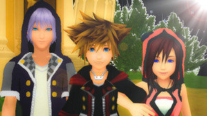 Kingdom Hearts III Sora Kairi and Riku