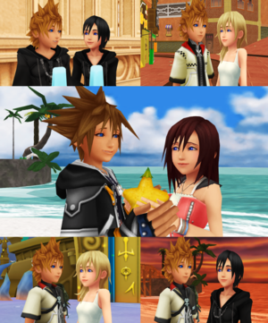 Kingdom Hearts Sky Sea Wind and Water  Special