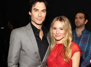 Kristen chuông, bell and Ian Somerhalder 2012 People's Choice