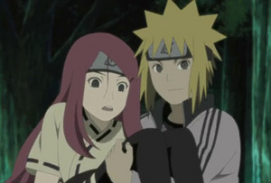 Kushina Uzumaki and Minato Namikaze and