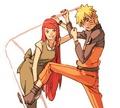 Kushina Uzumaki and Naruto Uzumaki  - kushina-uzumaki fan art