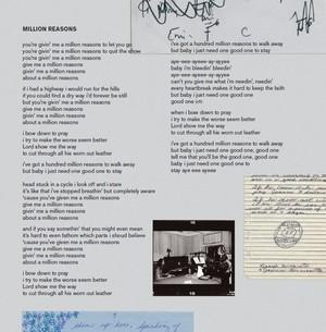 Lady Gaga – Joanne (Digital Booklet) - Million reasons