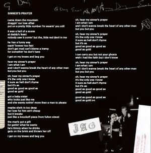 Lady Gaga – Joanne (Digital Booklet) - Sinner s pray