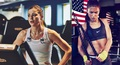 Laure Boulleau / Alex Morgan - soccer photo