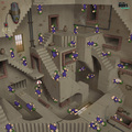 Lemmings meets Escher - video-games fan art