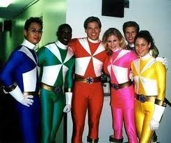 Lightspeed Rescue Power Rangers