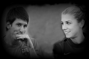 Lionel Messi / Alex Morgan