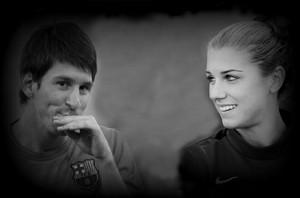 Lionel Messi / Alex morgan