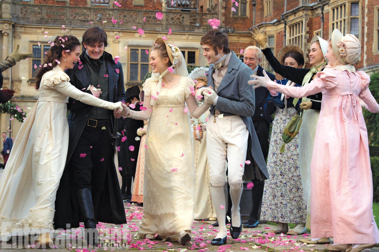 Pride And Prejudice Zombies Images Lizzie Jane S Wedding Day Hd Wallpaper Background Photos