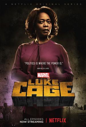 Luke Cage Mariah Dillard Season 1 Poster