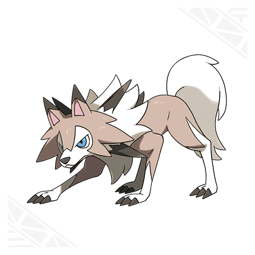 pokemon wallpaper titled Lycanroc (Midday Form)