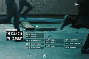 MONSTA X drops comeback schedule
