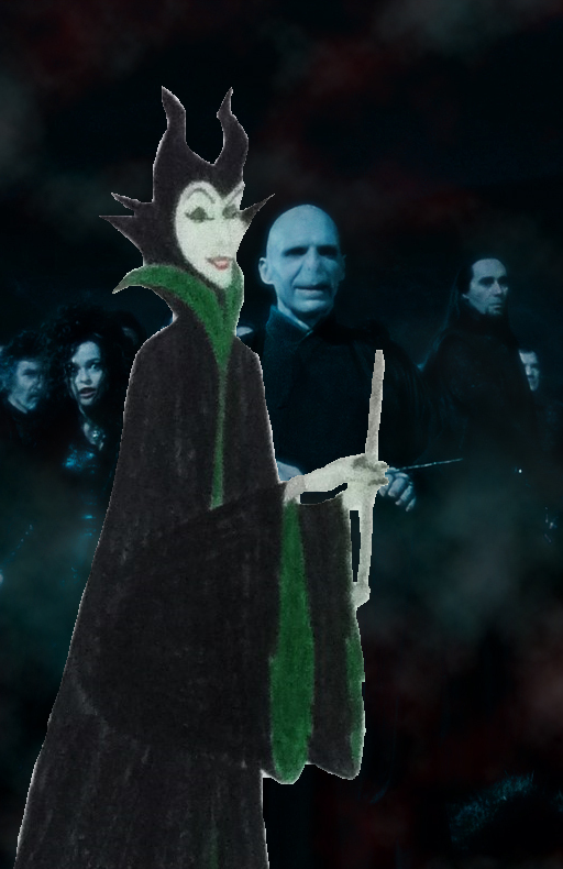 Maleficent in Slytherin