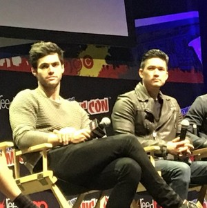 Matt and Harry at New York Comic Con