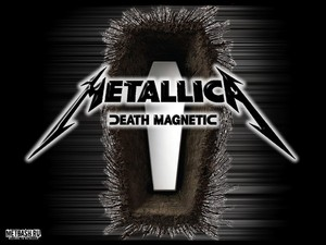 Metallica death magnetic achtergrond for Desktop