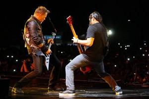 Metallica's Bogota toon