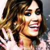 miley cyrus foto containing a portrait called Miley icon