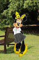 Minnie mouse in Hufflepuff