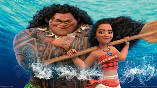 Disney's Moana Hintergrund possibly containing a water and an ruder titled Moana Hintergrund