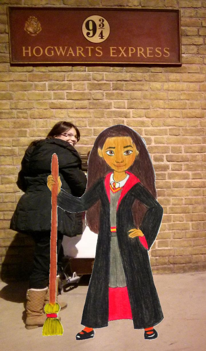 Moana in Gryffindor