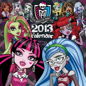 Monster High 2013 Wall Calendar