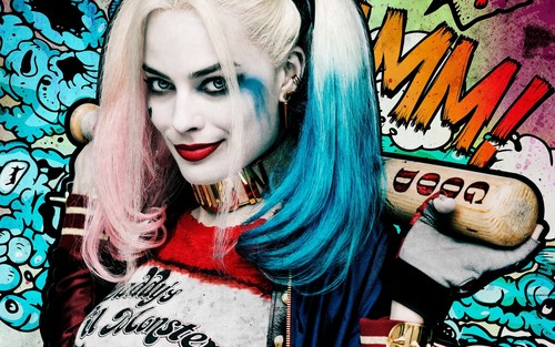 Suicide Squad 바탕화면 entitled Harley Quinn