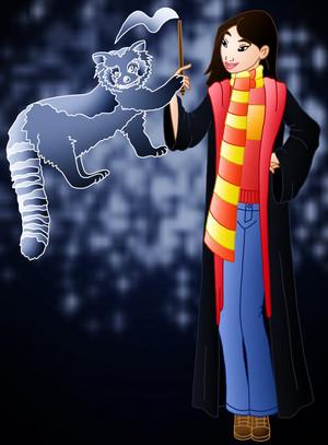 mulan in Hogwarts