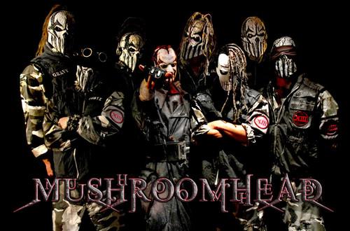 Metal wallpaper entitled Mushroomhead1